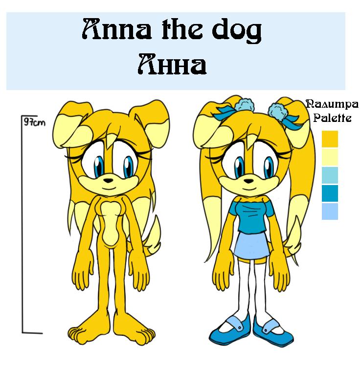Anna the dog reference by lizathehedgehog