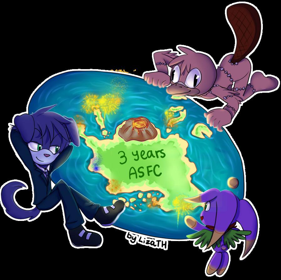 ASFC 3 years gift by lizathehedgehog