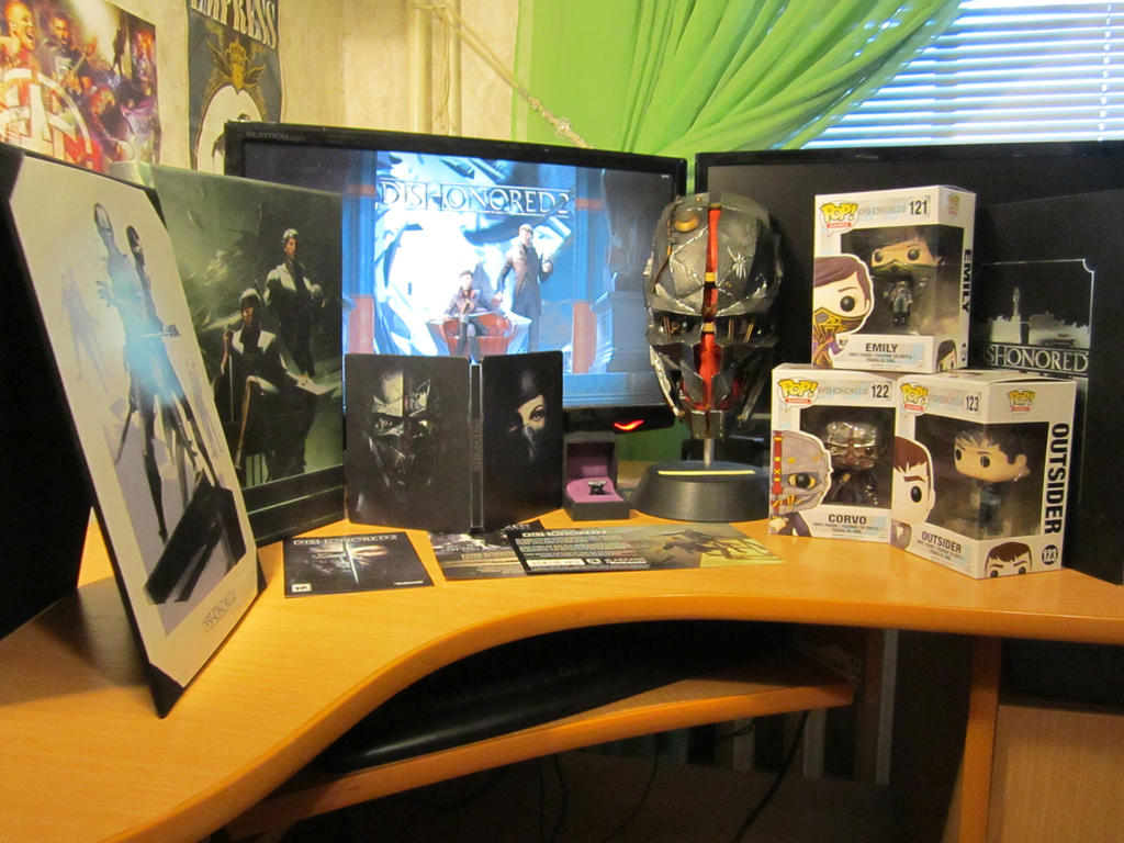 My whole Dishonored 2 collection! by lizathehedgehog