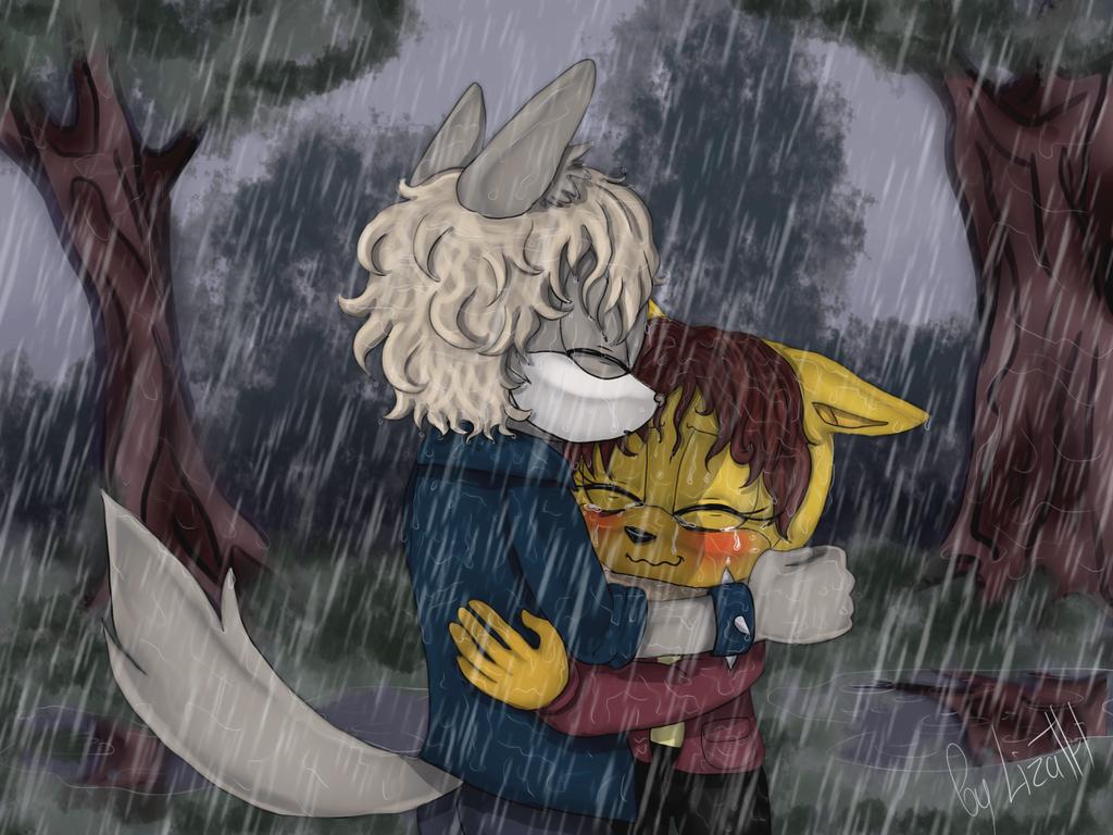 Rain by lizathehedgehog