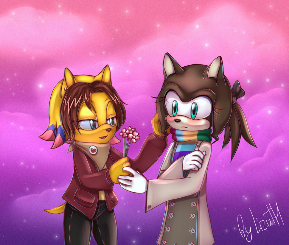 V-day gift by lizathehedgehog