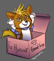 To Hyenolf by lizathehedgehog