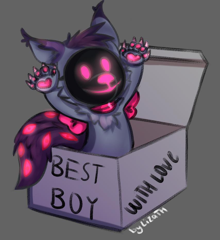 Best boy by lizathehedgehog