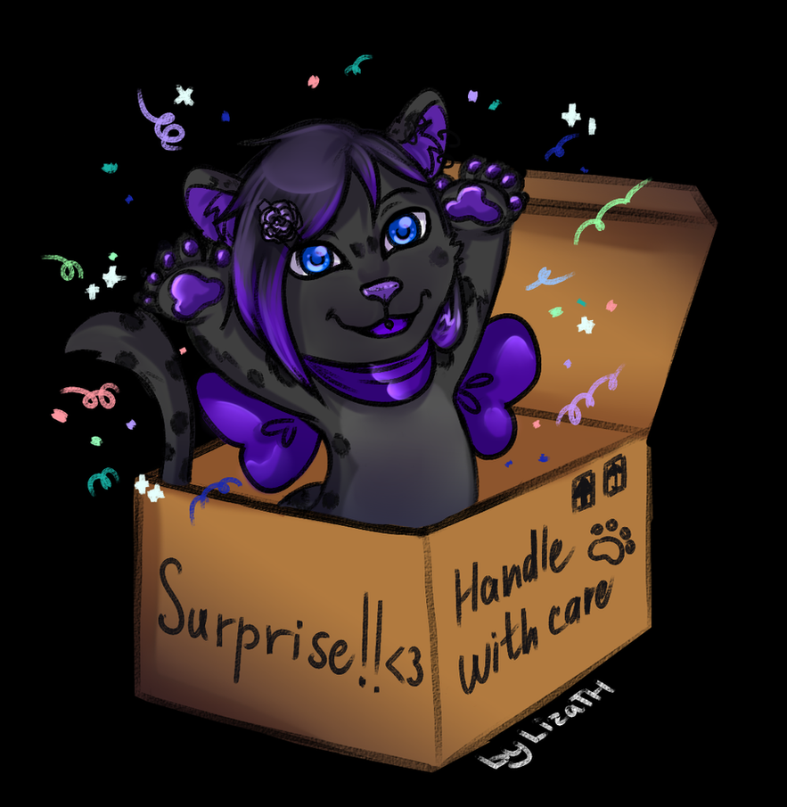 Surprise! by lizathehedgehog