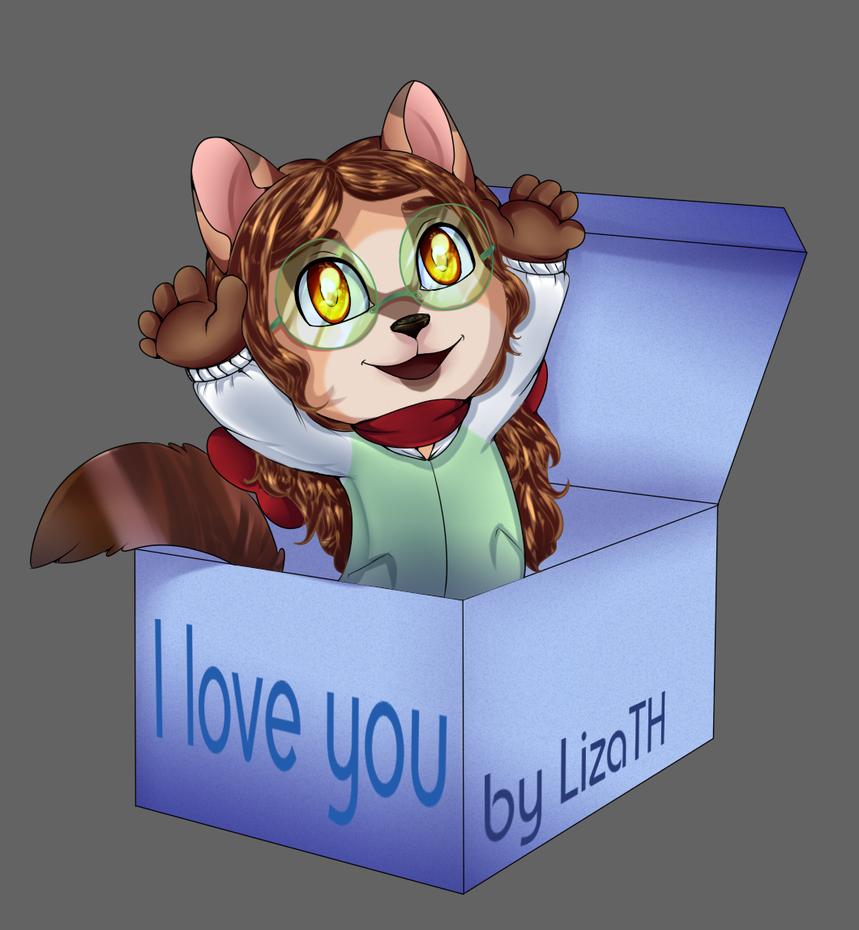 I love you by lizathehedgehog