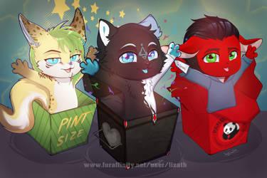 Box YCH 2.0 pack #6 by lizathehedgehog