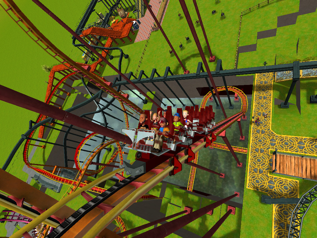 Roller Coaster Tycoon 3 - Escape from Hell by toainsully on DeviantArt