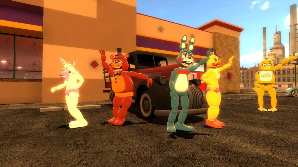 GMod - Toy Freddy Fazbear's roadtrip (start) by toainsully on DeviantArt