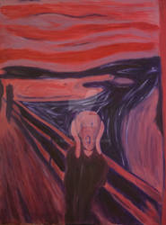 Recreation of The Scream