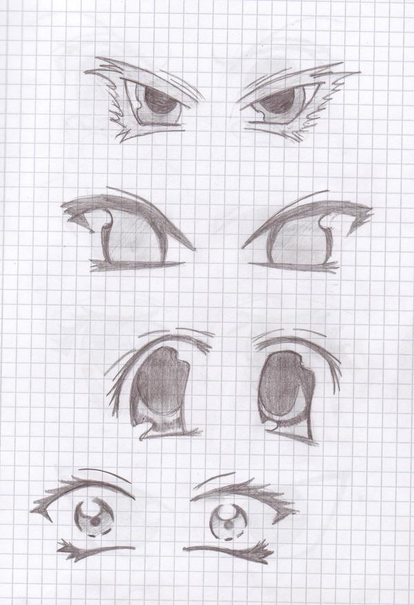 Manga eyes by Sevowen