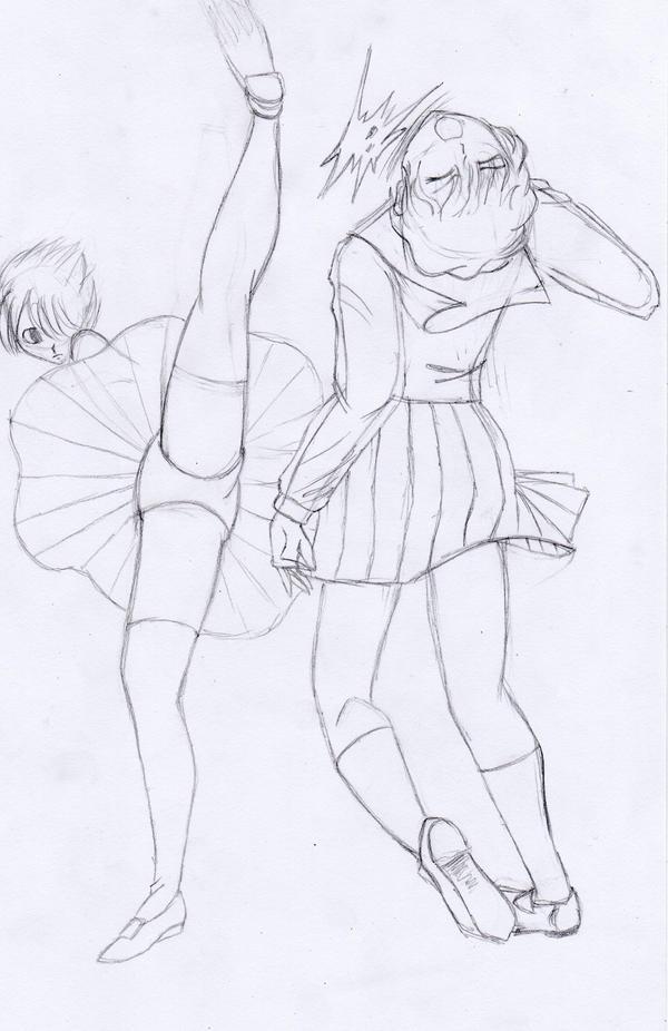 Fight scene 2 by Sevowen on DeviantArt