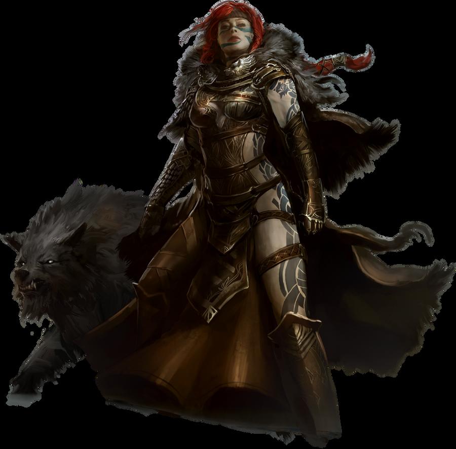 Guild Wars 2 Norn Render by Sevowen