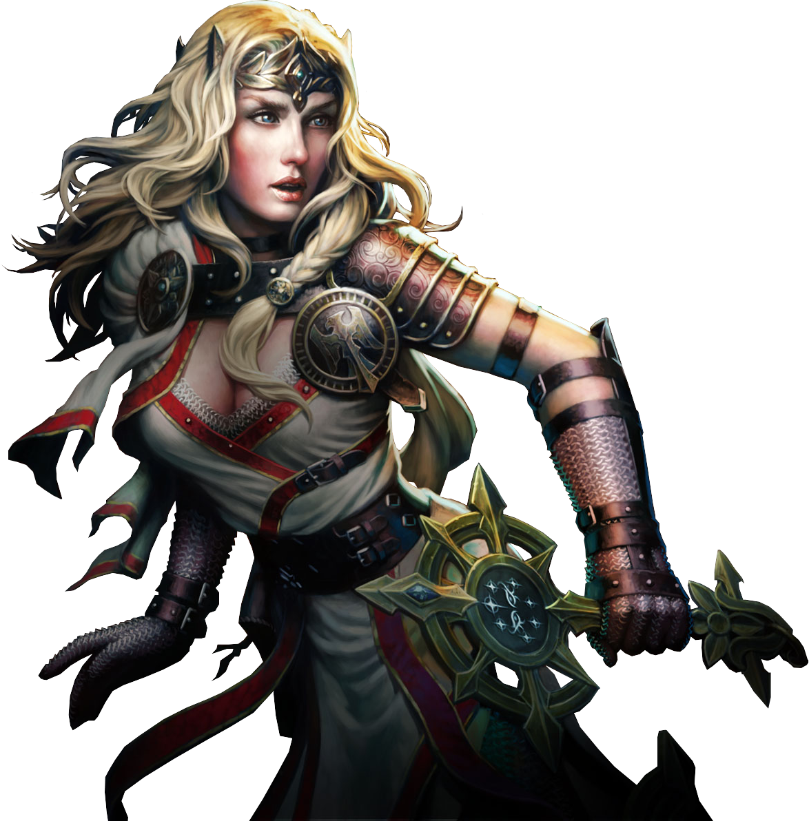 Neverwinter cleric render by Sevowen