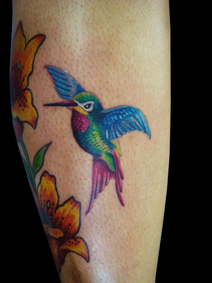 Hummingbird Tattoo Thumb And Its Meaning Picture
