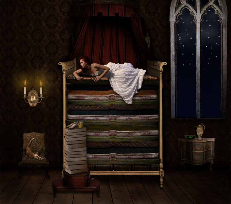Princess and the Pea by Susannehs