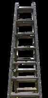 Old wooden ladder 01_ PNG