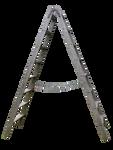 Old wooden ladder 02_ PNG