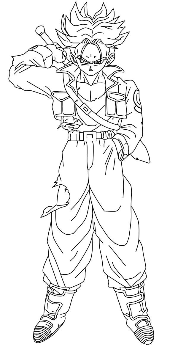 Super Saiyan Trunks Sword By Duskoy On Deviantart