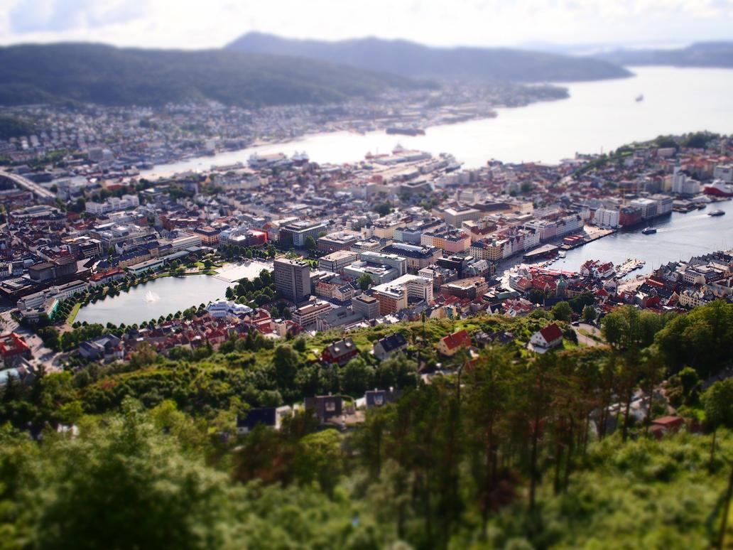 Bergen Miniature by Ernie-e