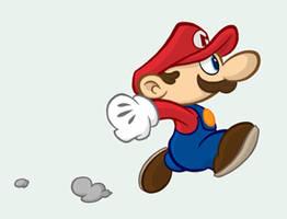 Littley-little Mario by Buml0r