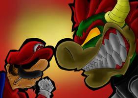 Mario vs. Bowser +NEW+