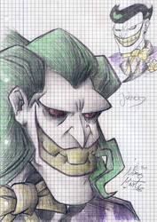 The Batman - Joker +notepad+
