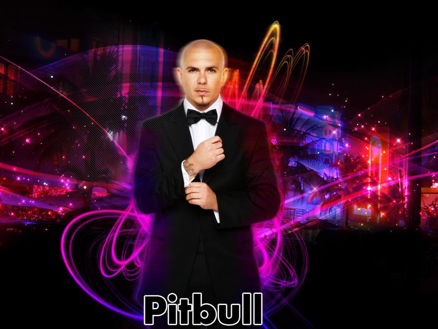 Pitbull Rapper Wallpaper Hd
