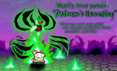 Mari's sorrow and her dark strength.