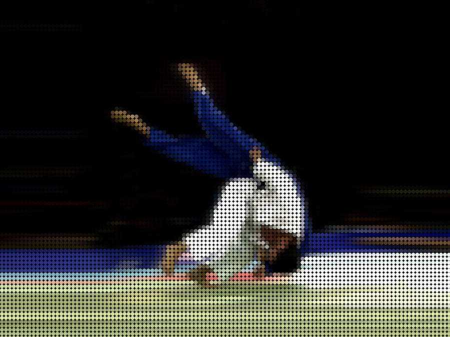 Photoshop Circle Pixel Effect Judo By 666makkura666 On