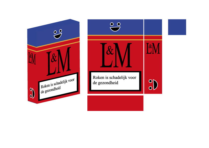 Cigarettes - Texture to 3D box object by 666Makkura666