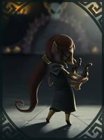 Link's Friendlist: Medli by Zoulouluvu