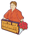 The Room: You're my Favorite Customer