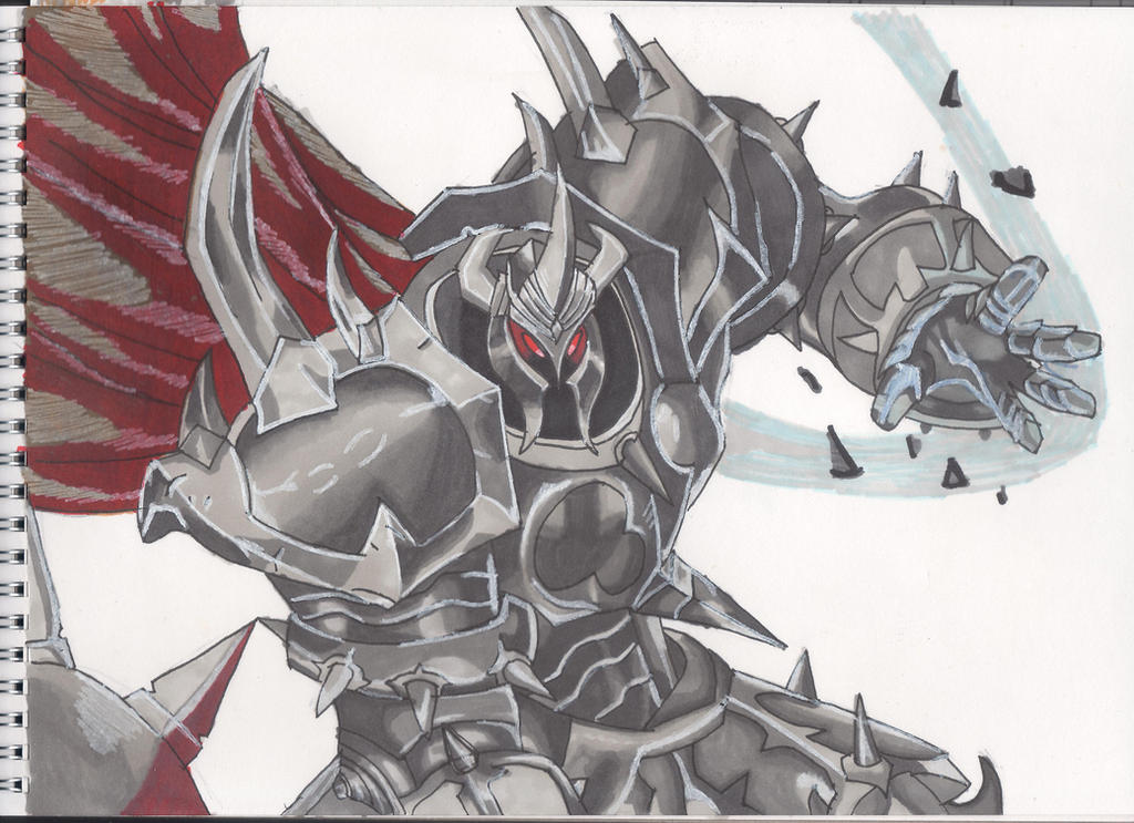 Mordekaiser from League of Legends by Sirvillhelm