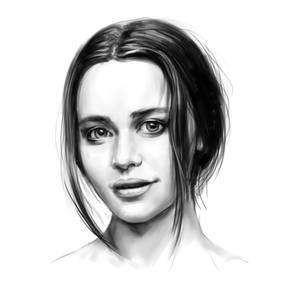 A quick portreit of Emilia Clarke