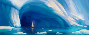 Entrance to the ice world