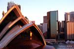 Opera House and Sydney by e-tahn