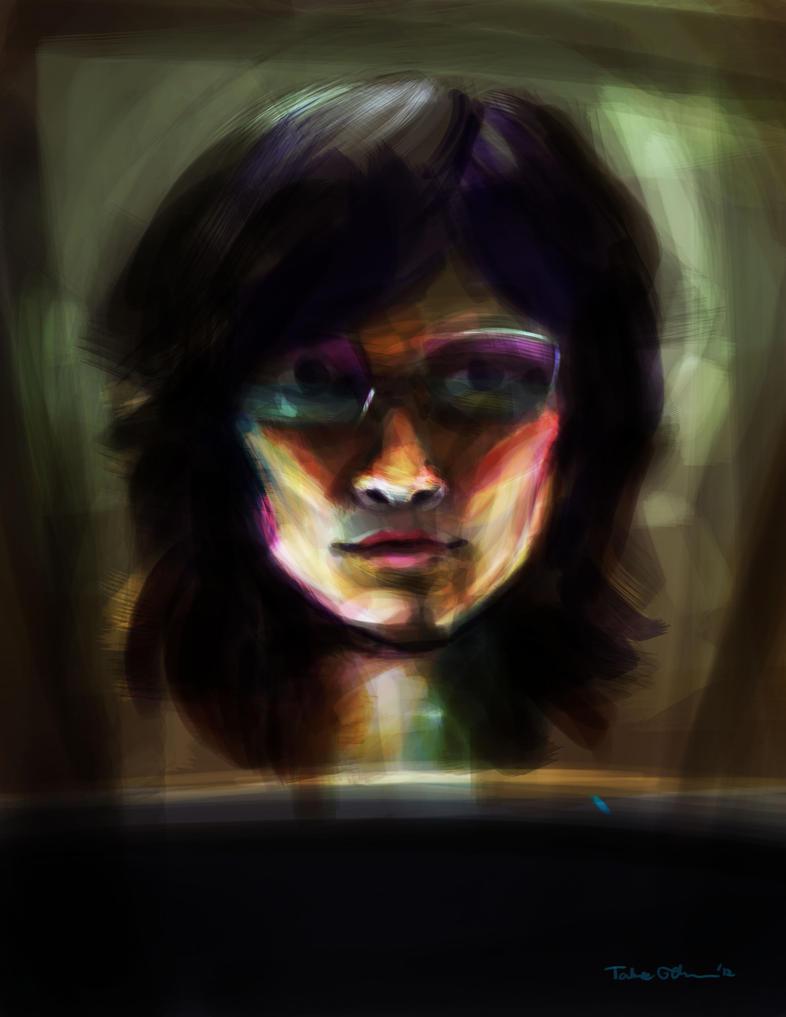 Self-Portrait by e-tahn