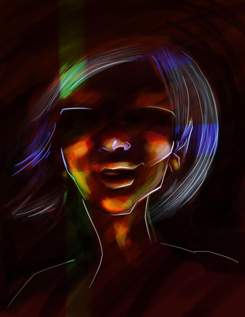 Lava Woman by e-tahn