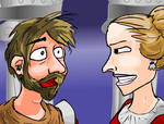 Lady and Macbeth confrontation
