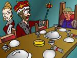 Macbeth's Dinner Ghost