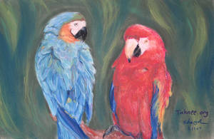 Parrots by e-tahn