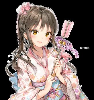 Anime Girl (Original)   Render #001