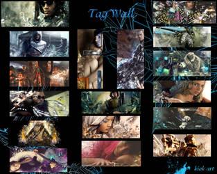 tagwall 2009 by kiok1