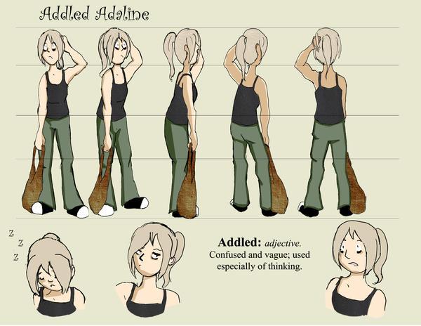 Original Character Turnaround by chibiyui