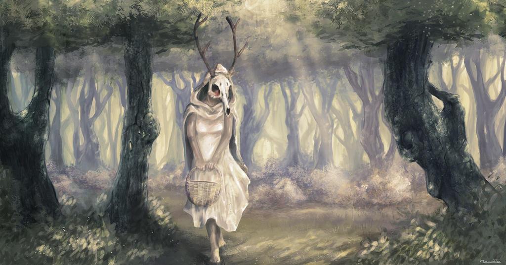 White Riding Hood by Klamante