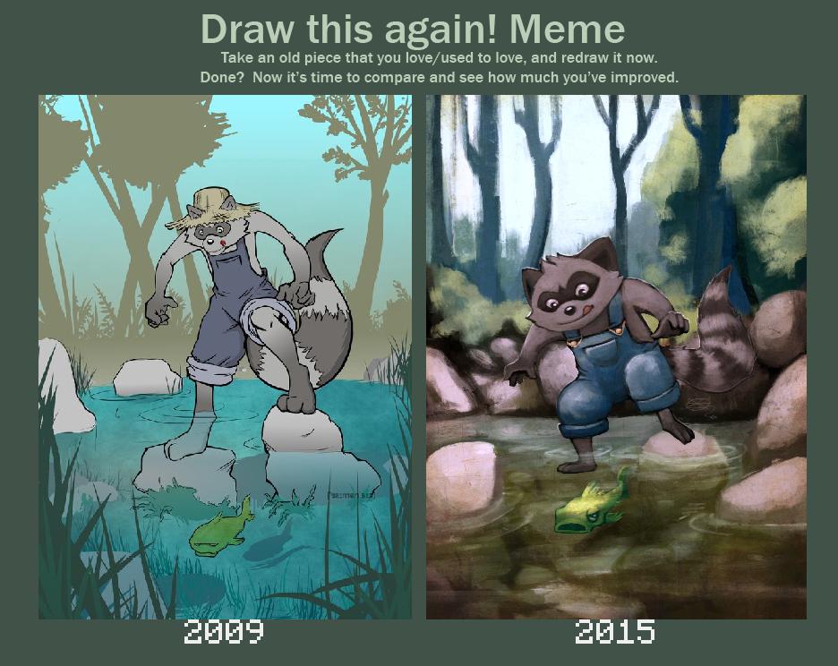 Drawthisagainmeme 2009-2015 by saimensez