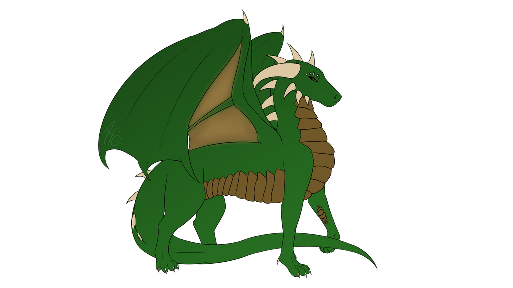 Mythical Creature - Dragon by ShapeshiftingMuffin