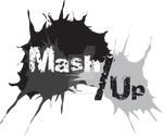 Mash/Up Grayscale Shirt Design 1