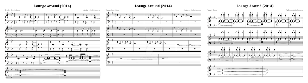 Lounge Around Sheet Music by UncertainSound