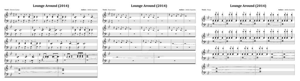 Lounge Around Sheet Music
